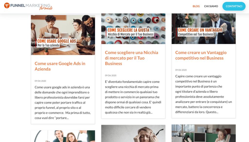 Blog Funnel Company