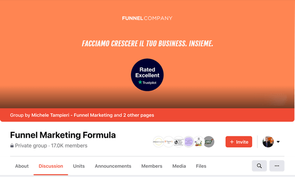 Gruppo Funnel Marketing Formula